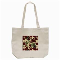 Floral Dreams 10 Tote Bag (cream) by MoreColorsinLife