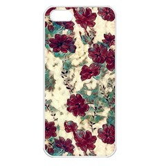 Floral Dreams 10 Apple Iphone 5 Seamless Case (white) by MoreColorsinLife