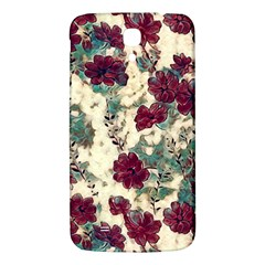 Floral Dreams 10 Samsung Galaxy Mega I9200 Hardshell Back Case by MoreColorsinLife