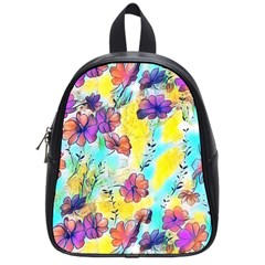 Floral Dreams 12 School Bags (small)  by MoreColorsinLife