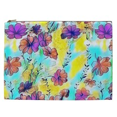 Floral Dreams 12 Cosmetic Bag (xxl)
