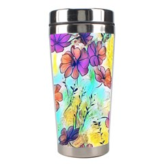 Floral Dreams 12 Stainless Steel Travel Tumblers by MoreColorsinLife