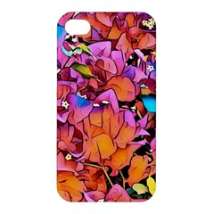 Floral Dreams 15 Apple Iphone 4/4s Hardshell Case by MoreColorsinLife