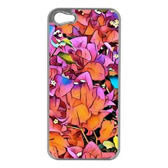 Floral Dreams 15 Apple Iphone 5 Case (silver) by MoreColorsinLife
