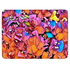Floral Dreams 15 Samsung Galaxy Tab 7  P1000 Flip Case by MoreColorsinLife