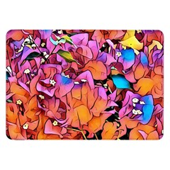 Floral Dreams 15 Samsung Galaxy Tab 8 9  P7300 Flip Case by MoreColorsinLife
