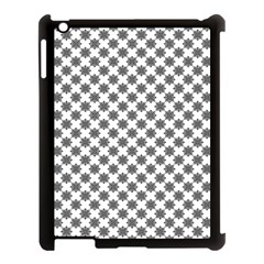 Pattern Apple Ipad 3/4 Case (black) by ValentinaDesign