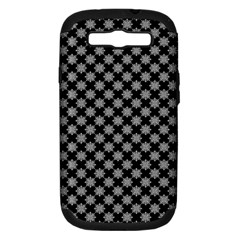 Pattern Samsung Galaxy S Iii Hardshell Case (pc+silicone) by ValentinaDesign