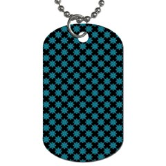 Pattern Dog Tag (two Sides) by ValentinaDesign