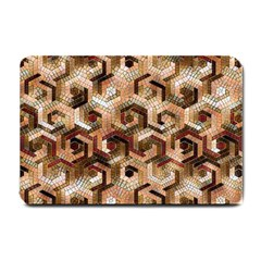 Pattern Factory 23 Brown Small Doormat  by MoreColorsinLife