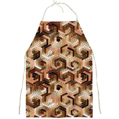 Pattern Factory 23 Brown Full Print Aprons by MoreColorsinLife