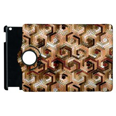 Pattern Factory 23 Brown Apple Ipad 2 Flip 360 Case by MoreColorsinLife