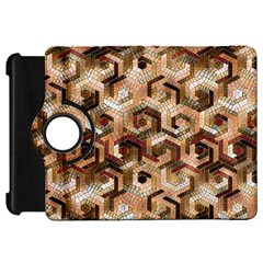 Pattern Factory 23 Brown Kindle Fire Hd 7  by MoreColorsinLife