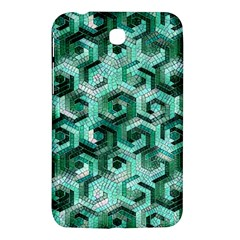 Pattern Factory 23 Teal Samsung Galaxy Tab 3 (7 ) P3200 Hardshell Case  by MoreColorsinLife