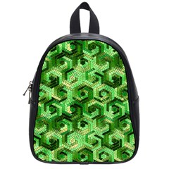 Pattern Factory 23 Green School Bags (small)  by MoreColorsinLife