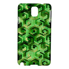Pattern Factory 23 Green Samsung Galaxy Note 3 N9005 Hardshell Case by MoreColorsinLife