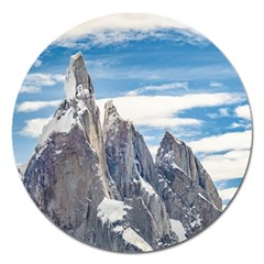 Cerro Torre Parque Nacional Los Glaciares  Argentina Magnet 5  (round) by dflcprints