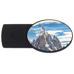 Cerro Torre Parque Nacional Los Glaciares  Argentina Usb Flash Drive Oval (4 Gb) by dflcprints