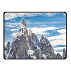 Cerro Torre Parque Nacional Los Glaciares  Argentina Double Sided Fleece Blanket (small)  by dflcprints