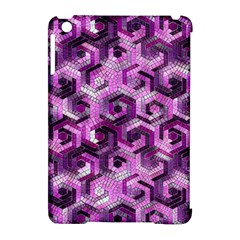 Pattern Factory 23 Pink Apple Ipad Mini Hardshell Case (compatible With Smart Cover) by MoreColorsinLife