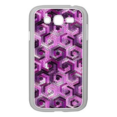 Pattern Factory 23 Pink Samsung Galaxy Grand Duos I9082 Case (white) by MoreColorsinLife