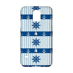 Sea Pattern Samsung Galaxy S5 Hardshell Case  by Valentinaart