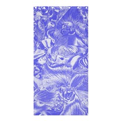 Shimmering Floral Damask,blue Shower Curtain 36  X 72  (stall)  by MoreColorsinLife
