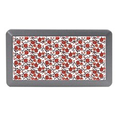 Roses Pattern Memory Card Reader (mini) by Valentinaart