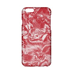 Shimmering Floral Damask Pink Apple Iphone 6/6s Hardshell Case by MoreColorsinLife