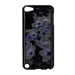 Glowing Flowers In The Dark B Apple Ipod Touch 5 Case (black) by MoreColorsinLife