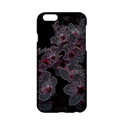 Glowing Flowers In The Dark A Apple Iphone 6/6s Hardshell Case by MoreColorsinLife