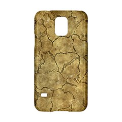 Cracked Skull Bone Surface A Samsung Galaxy S5 Hardshell Case  by MoreColorsinLife