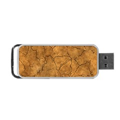 Cracked Skull Bone Surface C Portable Usb Flash (two Sides) by MoreColorsinLife