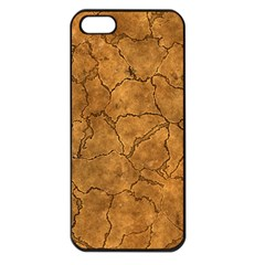 Cracked Skull Bone Surface C Apple Iphone 5 Seamless Case (black) by MoreColorsinLife