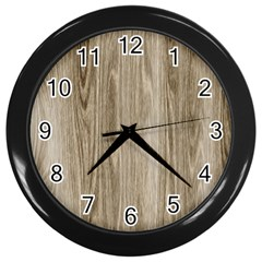 Wooden Structure 3 Wall Clocks (black) by MoreColorsinLife