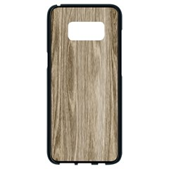 Wooden Structure 3 Samsung Galaxy S8 Black Seamless Case by MoreColorsinLife