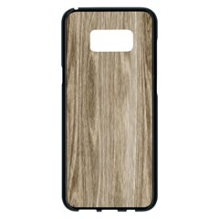 Wooden Structure 3 Samsung Galaxy S8 Plus Black Seamless Case by MoreColorsinLife
