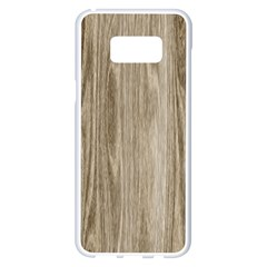 Wooden Structure 3 Samsung Galaxy S8 Plus White Seamless Case by MoreColorsinLife
