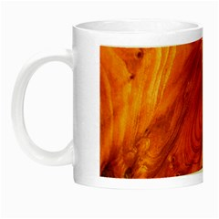 Fantastic Wood Grain Night Luminous Mugs by MoreColorsinLife