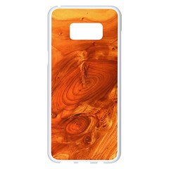 Fantastic Wood Grain Samsung Galaxy S8 Plus White Seamless Case by MoreColorsinLife