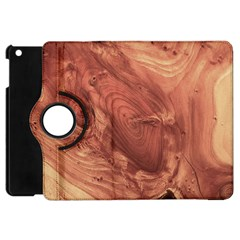 Fantastic Wood Grain,brown Apple Ipad Mini Flip 360 Case by MoreColorsinLife