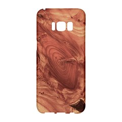 Fantastic Wood Grain,brown Samsung Galaxy S8 Hardshell Case  by MoreColorsinLife
