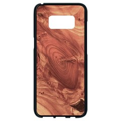 Fantastic Wood Grain,brown Samsung Galaxy S8 Black Seamless Case by MoreColorsinLife