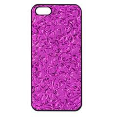 Sparkling Metal Art D Apple Iphone 5 Seamless Case (black) by MoreColorsinLife