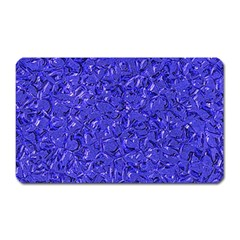 Sparkling Metal Art E Magnet (rectangular) by MoreColorsinLife