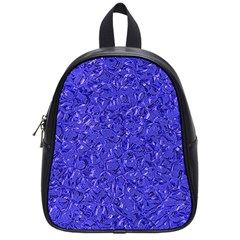 Sparkling Metal Art E School Bags (small)  by MoreColorsinLife