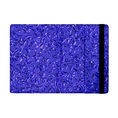 Sparkling Metal Art E Apple Ipad Mini Flip Case by MoreColorsinLife