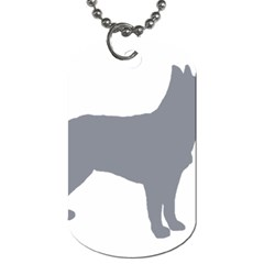 Australian Stumpy Tail Cattle Dog Silo Blue Dog Tag (One Side)