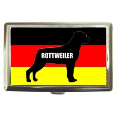 Rottweiler Name Silo On Flag Cigarette Money Cases by TailWags