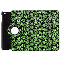 Roses Pattern Apple Ipad Mini Flip 360 Case by Valentinaart